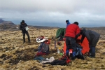 A good rest in 500 m altitude. Putting up a tent up there is not possible anymore for legal reasons.